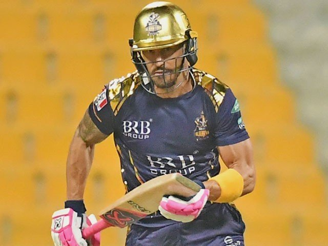 Faf Duplessis out of PSL