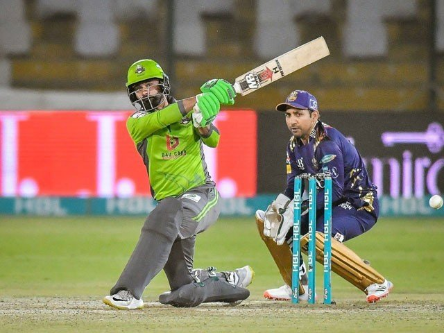 Lahore Qalandars batting line in trouble in pursuit of the target