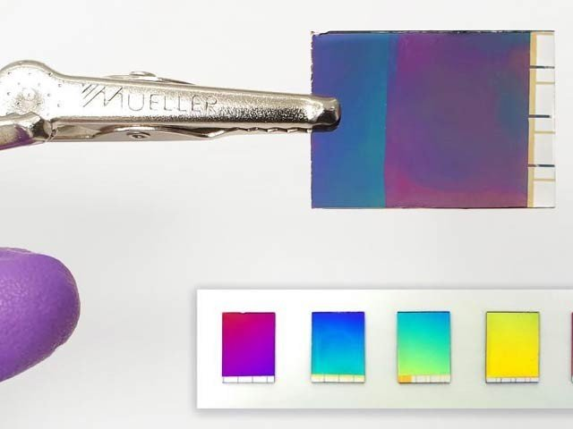 Colorful Electronic Paper