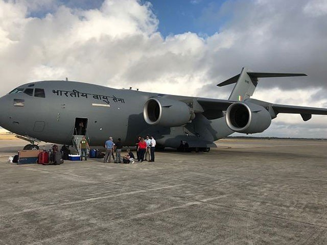 Indian Officials Also Evacuated Bagram Air Base