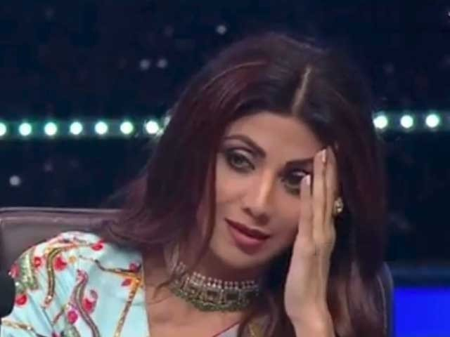 Shilpa Shetty Could Not Control Her Emotions